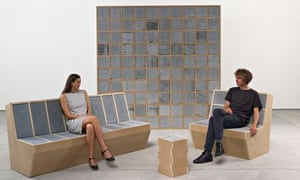 Sarah Lucas's furniture line