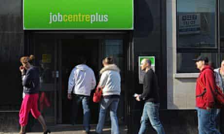 Jobcentre benefits sanctions