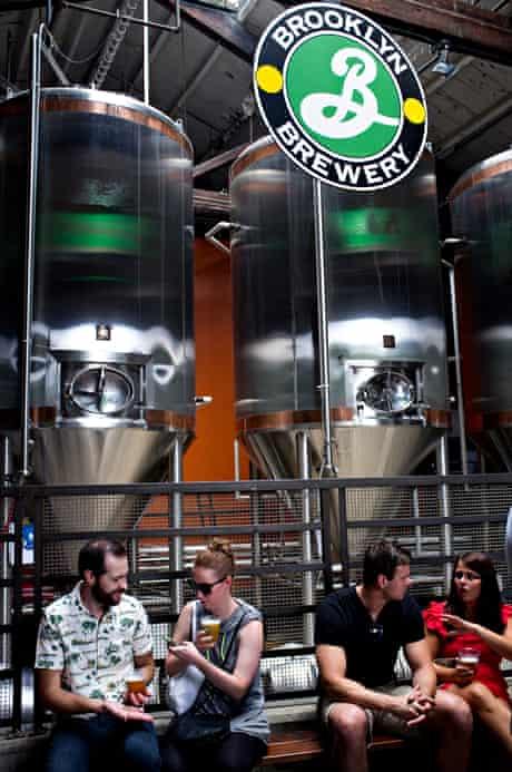 Brooklyn Brewery. Williamsburg, Brooklyn