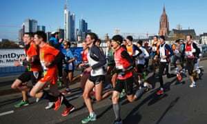The Frankfurt marathon.