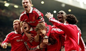 Manchester United beat Liverpool 1999