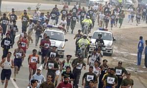 The Lahore Marathon.