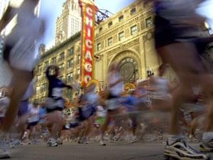 The Chicago Marathon.