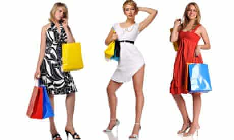 Personal shoppers … job opportunity (picture posed by models).
