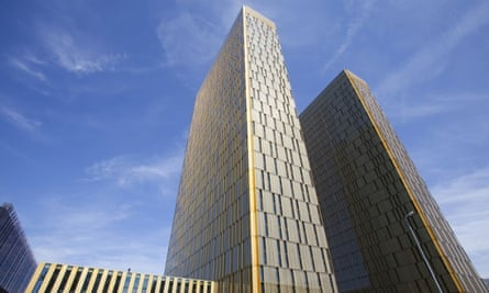 Office towers of the European Court of Justice