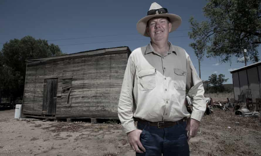Fifth-generation Maules Creek farmer Phil Laird on a farm near the Leard state forest.