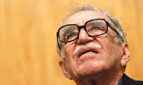 Colombian writer Gabriel García Márquez.