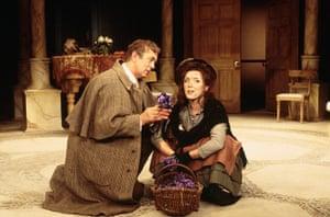 Pygmalion: Actors Carli Norris and Roy Marsden