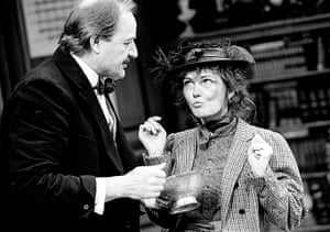 Pygmalion: Peter Bowles and Fiona Fullerton in Pygmalion in Chichester, 1994