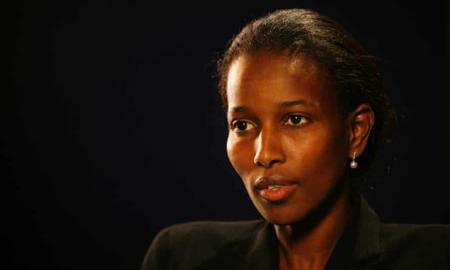 Writer Ayaan Hirsi Ali, who has been critical of Islam's treatment of women, pictured in 2007.