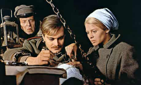 Omar Sharif and Julie Christie in the film Doctor Zhivago