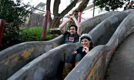 Seward Street Slides San Francisco outdoor