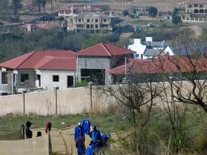 Gated communities - Dainfern, South Africa