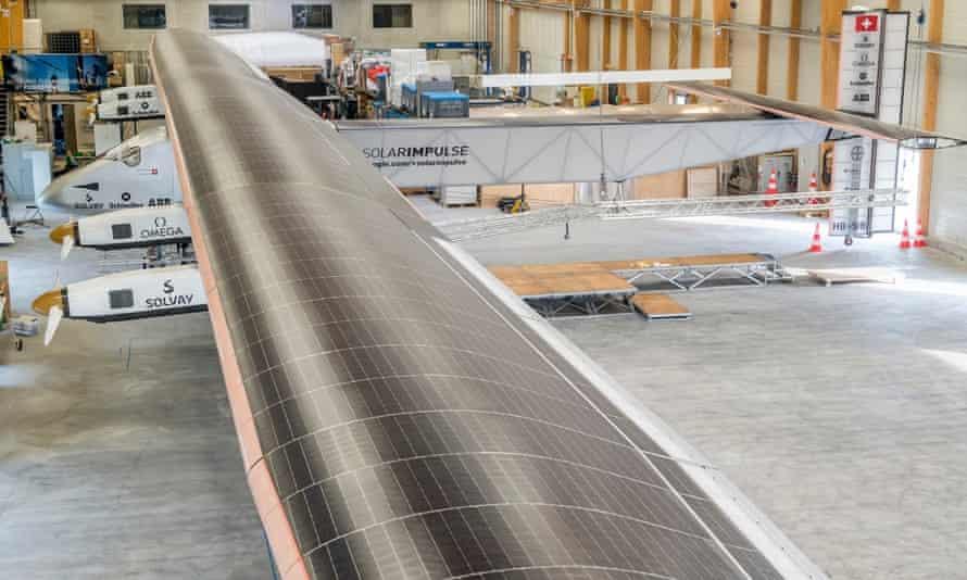Solar Impulse 2, a single seater solar airplane