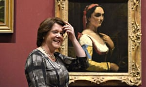 Maria Miller at the National Gallery
