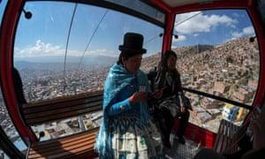 La Paz cable car