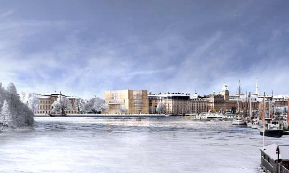 Nobel Centre building winning design