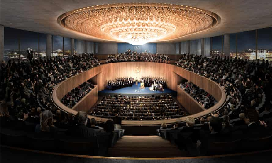 Nobel Centre winning design interior