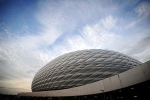 Bayern v United: Allianz Arena