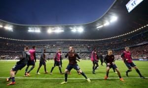 Bayern Munich v Manchester United