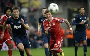Bayern v United: Michael Carrick