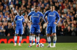Tom's Chelsea pics: Eto'o and Torres after the 2nd goal for Atletico