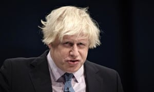 Boris Johnson at the Conservative party annual conference in 2013