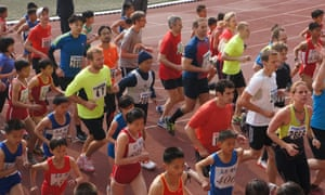 In 2014, tourists and amateur runners were permitted to take part in the Pyongyang Marathon for the first time.