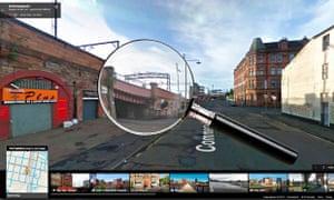 Google Street View sleuth