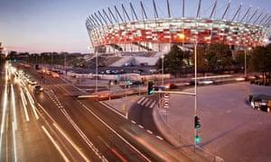 Polish national stadium, Warsaw, opened 2011