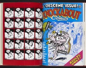 Knockabout Comics, 1984, no.4 'Obscene' issue,.