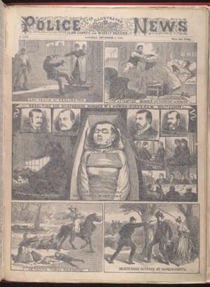 Illustrated Police News, 1888.