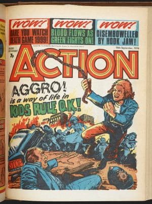 Action 1976-77, by Jack Adrian and Mike White.
