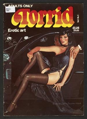 Torrid Erotic art, 1979.