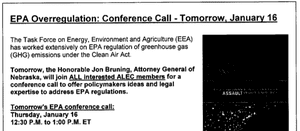 Alec conference call flyer