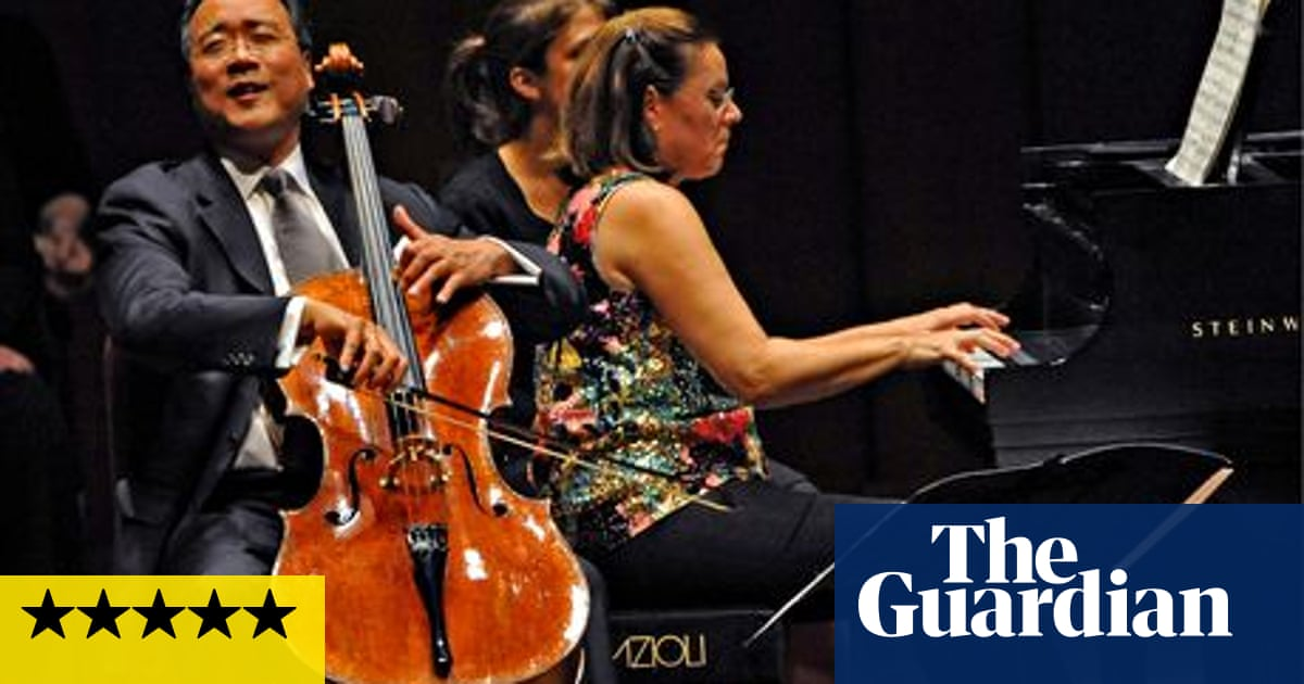 Yo-Yo Ma and Kathryn Stott review – a musical marriage of cello and