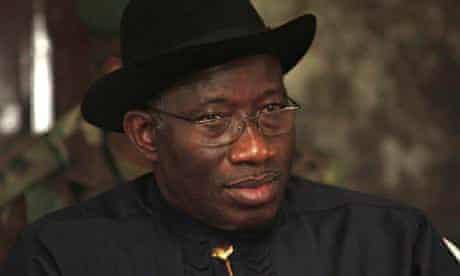 Goodluck Jonathan, president of Nigeria