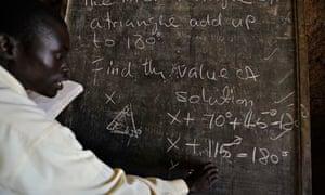Katine blackboard
