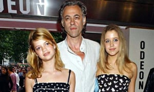 Peaches Geldof with father 2003