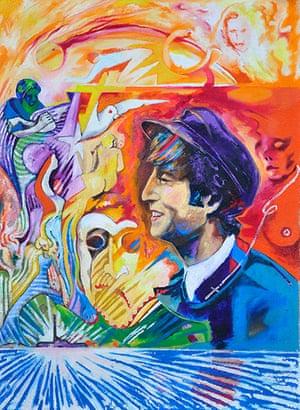 David Vaughan: John Lennon by David Vaughan