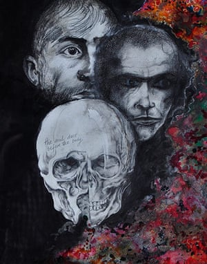 David Vaughan: Skull Painting
