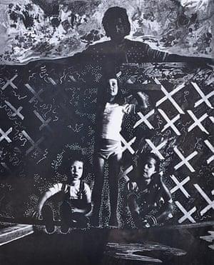 David Vaughan: Sadie child poster