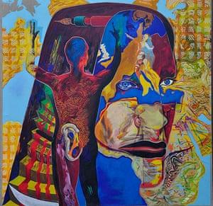 David Vaughan: David Vaughan Painting