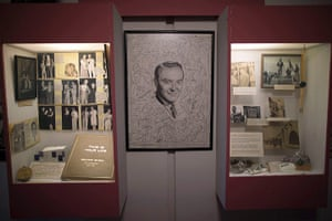 From the agencies: A display in honor of radio host Ralph Edwards in Truth or Consequences