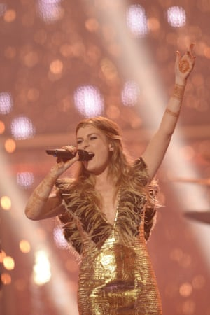 Molly Smitten-Downes gave it her all, but possibly not enough to bring Eurovision to the UK in 2015.