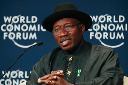 'President Goodluck Jonathan has been more focused on the World Economic Forum than the kidnapped schooldgirls'.