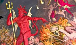 Illustration of the devil