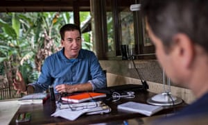 Snowden's the one who made the greatest sacrifice'… Glenn Greenwald in Rio'
