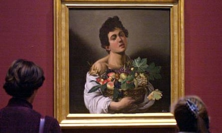 Caravaggio's Boy with a Basket of Fruit