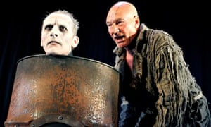 Patrick Stewart and Julian Bleach in RSC's The Tempest 2006